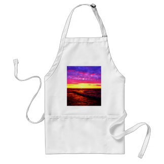 Sunset over Lake Erie Adult Apron