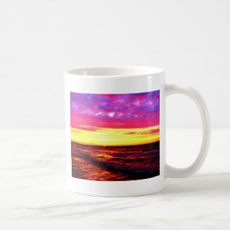 Sunset over Lake Erie Coffee Mug