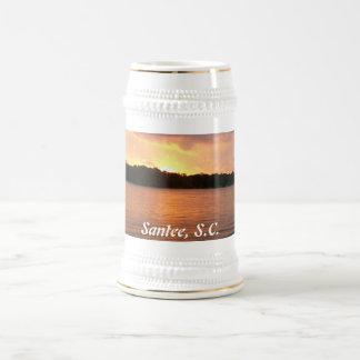 Sunset Over Lake Marion - Beer Stein Coffee Mug