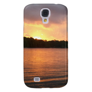 Sunset Over Lake Marion - Phone Case Galaxy S4 Cover