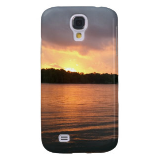 Sunset over Lake Marion Santee SC Samsung Galaxy S4 Covers