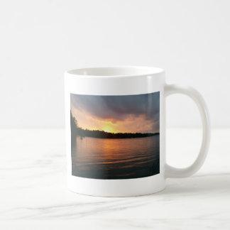 Sunset over Lake Marion Santee SC Coffee Mug