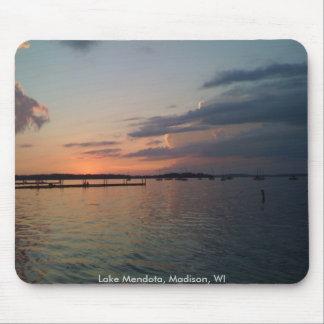 Sunset over Lake Mendota Mouse Pad