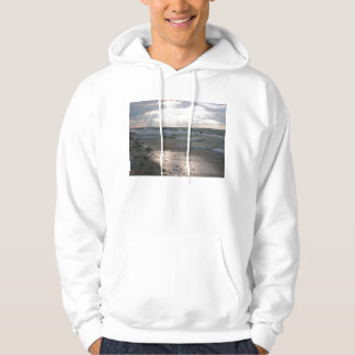 Sunset over Lake Michigan Hoodie