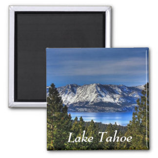 Sunset Over  Lake Tahoe California  Magnet