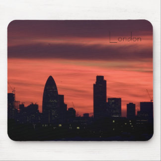 Sunset over London Mouse Pad