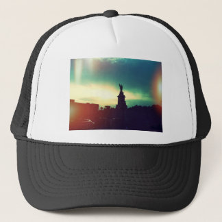 Sunset over London Trucker Hat