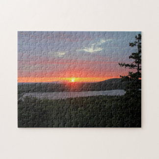 'Sunset Over Long Pond' Puzzle