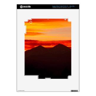 Sunset Over Longs Peak Colorado iPad 3 Decal
