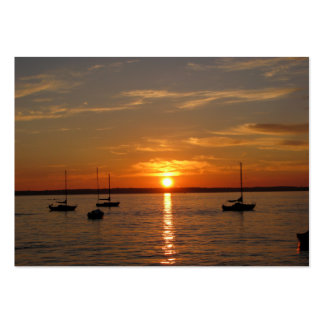 Sunset Over Lummi Island Business Cards