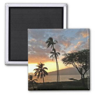 Sunset over Maalaea Bay, Maui Magnet