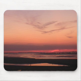 Sunset Over Merseyside Mouse Pad