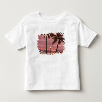 Sunset over Moorea from Sofitel Maeva Beach Toddler T-shirt