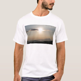 Sunset over mountains T-Shirt