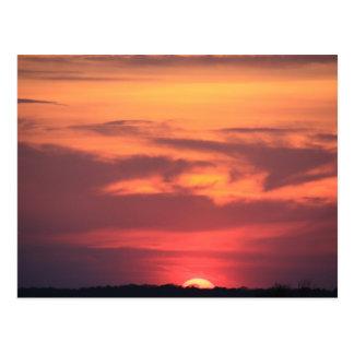 Sunset over Ocean City Bay ~ NJ Postcard