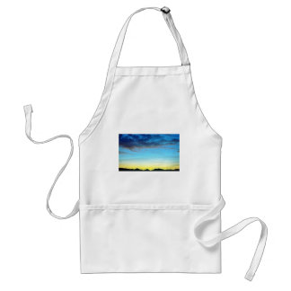 Sunset Over Panamint Mountains Apron
