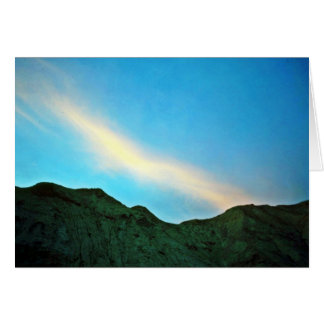 Sunset Over Panamint Mountains Cards
