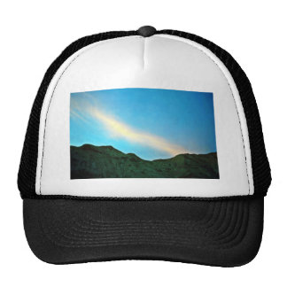 Sunset Over Panamint Mountains Trucker Hat