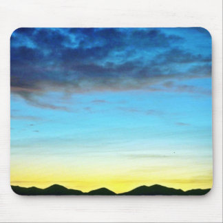 Sunset Over Panamint Mountains Mousepads