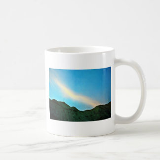 Sunset Over Panamint Mountains Coffee Mug
