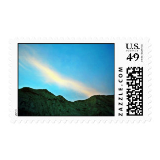 Sunset Over Panamint Mountains Stamp