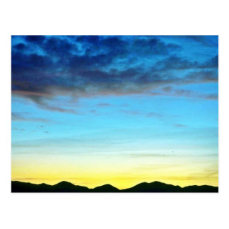 Sunset Over Panamint Mountains Post Card