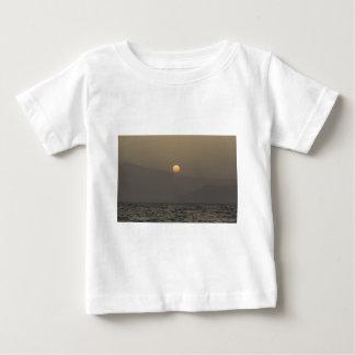 Sunset over Paros island mountains Baby T-Shirt