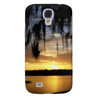 Sunset over Paynes Prairie Lake Galaxy S4 Cover