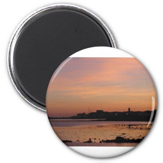 Sunset over Salthill Magnet