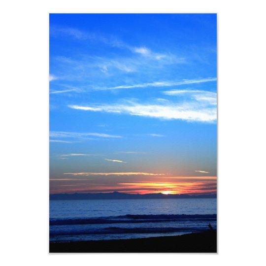 Sunset Over Santa Cruz Island Card