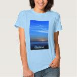 Sunset Over Santa Cruz Island T Shirts