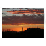 Sunset over Scottsdale Greeting Card
