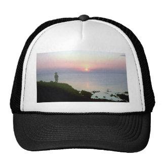 Sunset over Sea of Cortez, Sonora coast, Mexico Trucker Hat