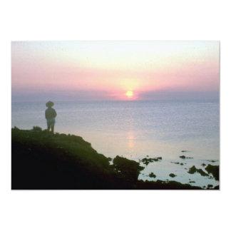 Sunset over Sea of Cortez, Sonora coast, Mexico Personalized Invites