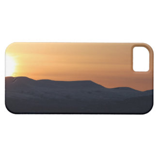 Sunset Over Snowy Mountains iPhone SE/5/5s Case