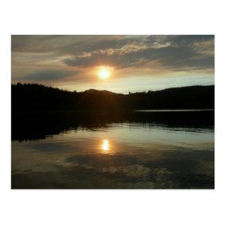 Sunset over Spring Valley Reservoir Postcards