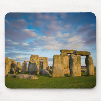 Sunset over Stonehenge, Wiltshire, England Mouse Pad