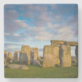 Sunset over Stonehenge, Wiltshire, England Stone Coaster