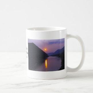 Sunset over Susquehanna River Pennsylvania Coffee Mug
