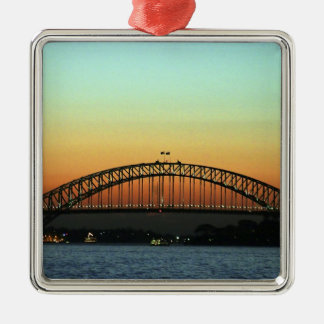 Sunset over Sydney Harbor Bridge, Australia Metal Ornament