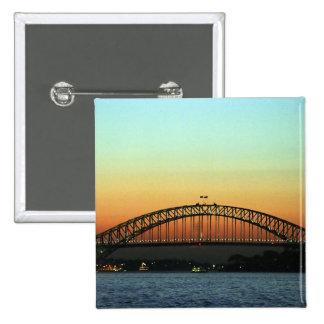 Sunset over Sydney Harbor Bridge, Australia Pins