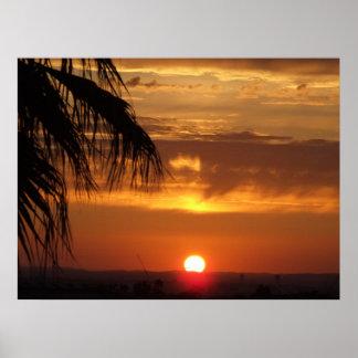 Sunset Over the Algarve (4) - Portugal Poster
