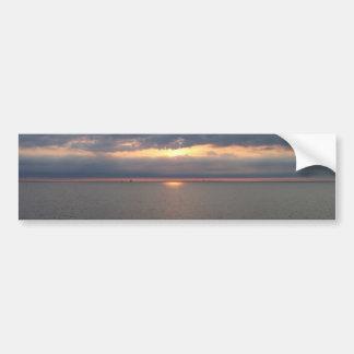 Sunset over the Baltic Bumper Sticker