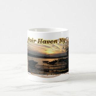 SUNSET OVER THE BAY Fair Haven NY  - Mug