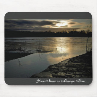 Sunset over the Big Muddy Mousepads
