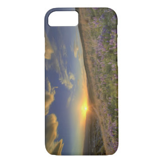 Sunset over the Bitterroot Mountains and vast iPhone 7 Case
