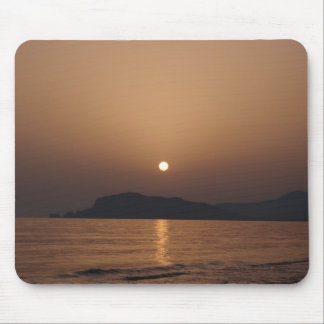 Sunset over the Castle Mouse Pad