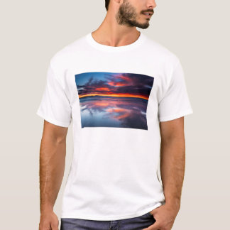 Sunset over the Channel Islands, CA T-Shirt