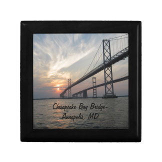Sunset over the Chesapeake Bay Bridge Gift Boxes