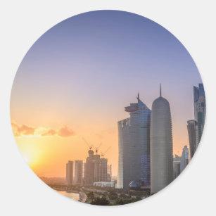 Qatar stickers zazzle